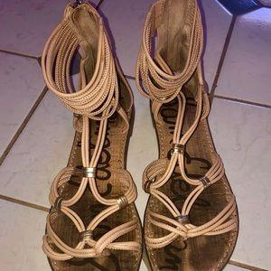 Sam Edelman Shoes - Sam Edelman Gianni Sandal Tan - Sz 8